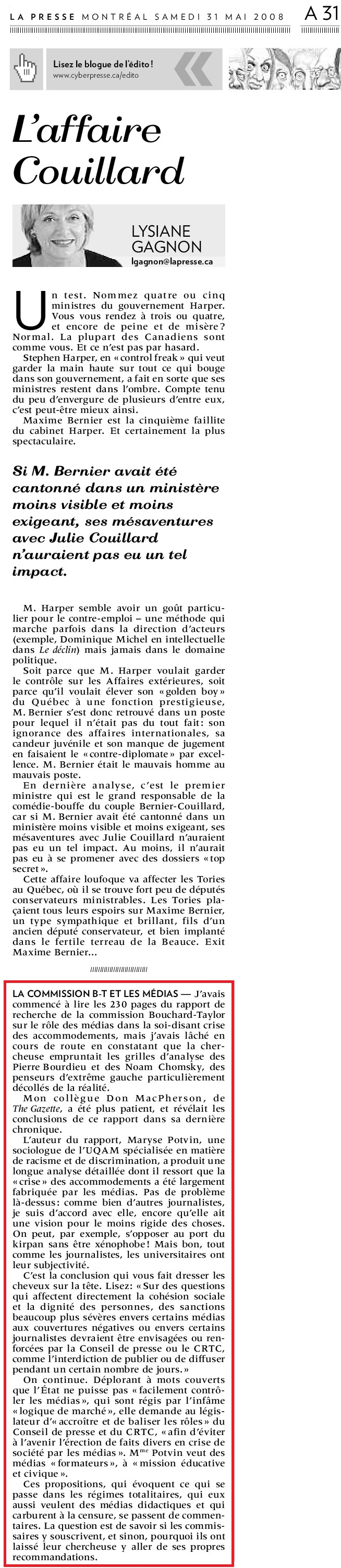 Gagnon L Maryse Potvin Censure