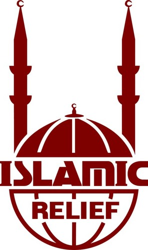 red islamic relief logo