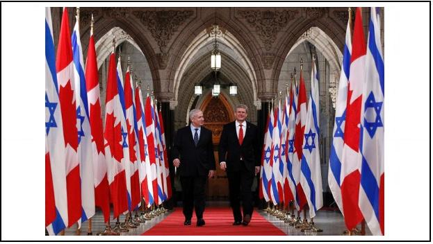 israel canada rectangle