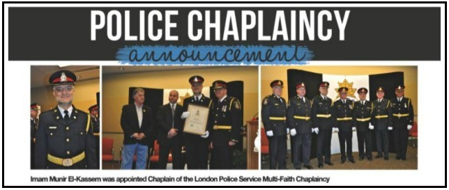 how to become a chaplain in ontario