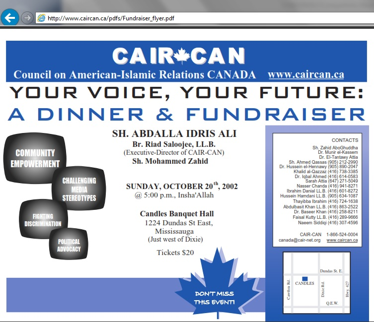 cair-can meeting 2002 contacts