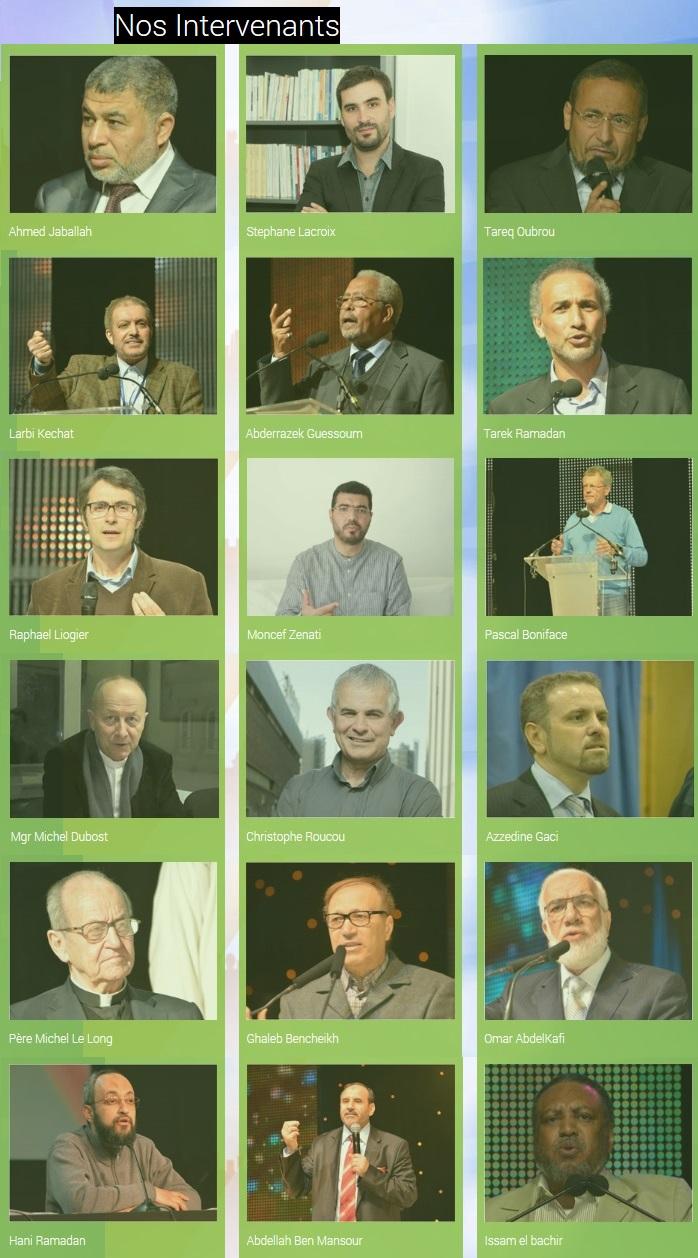 UOIF Bourget 2014 Speakers