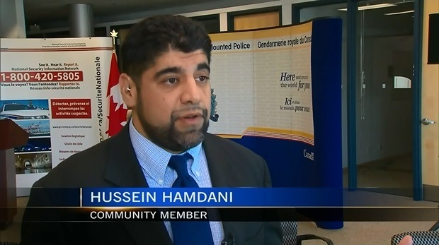 Hamdani - RCMP - booth