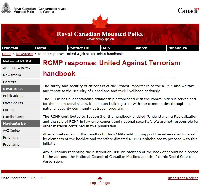 RCMP NCCM Press Release Large