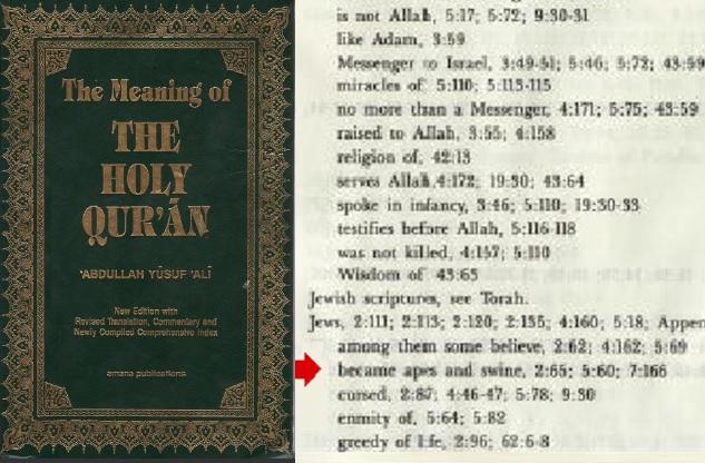 Yusuf Ali Koran Jews