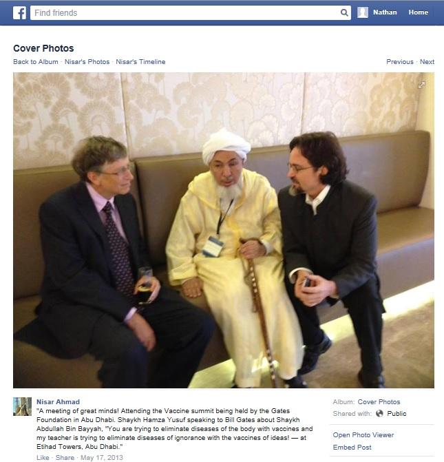 Yusuf Hamza Bill Gates Bin Bayyah