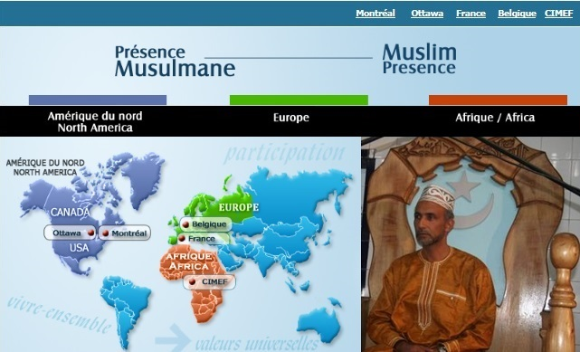 PM Carte Canada Europe Afrique Grand