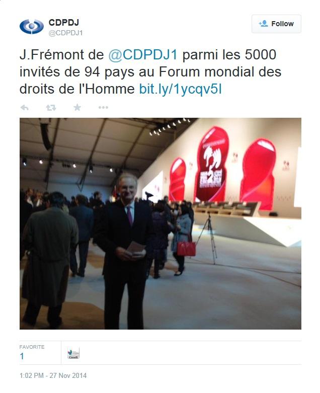 CDPDJ Frémont Maroc 2014 Twitter