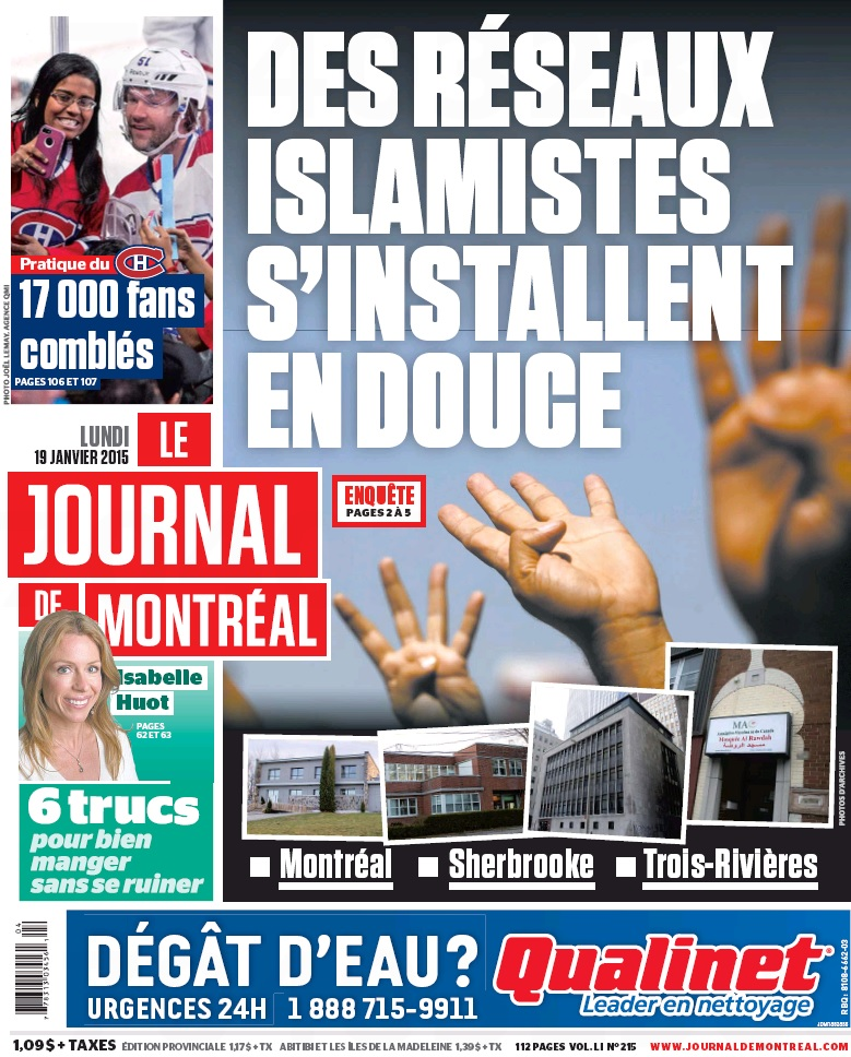 JdeM Réseaux islamistes Pleine page