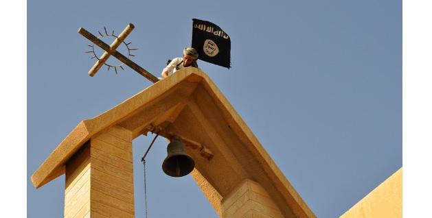 Eglise croix détruite