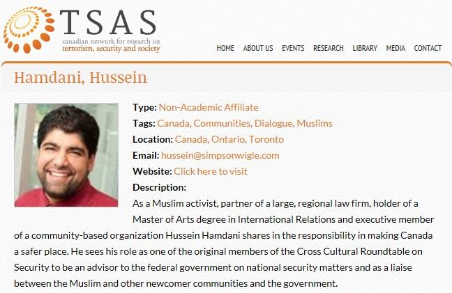 Hamdani H TSAS Profile