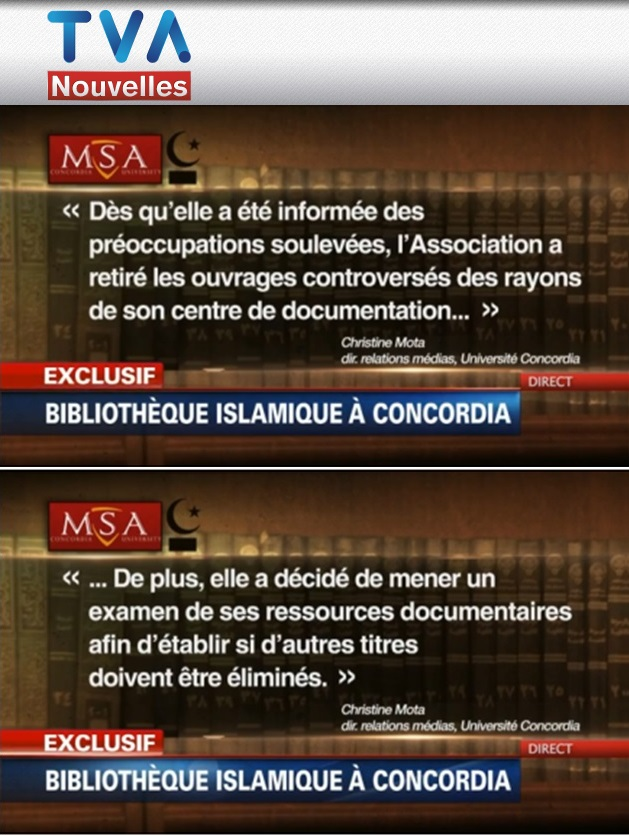 MSA Concordia Christine Mota Réaction