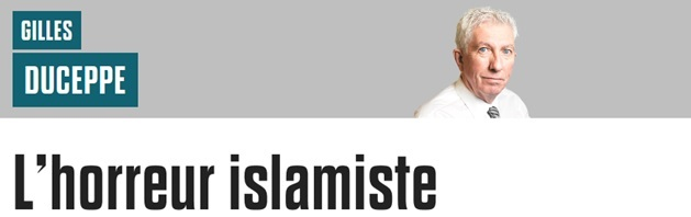 Duceppe AS Horreur islamiste