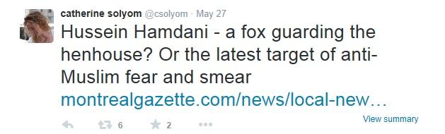 HAMDANI Solyom Gazette Twitter