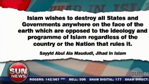 Maududi Sun TV Jihad Excerpt