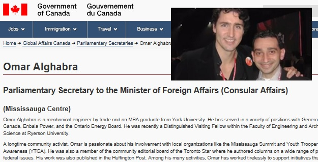 Ezra Rebel on Alghabra Trudeau