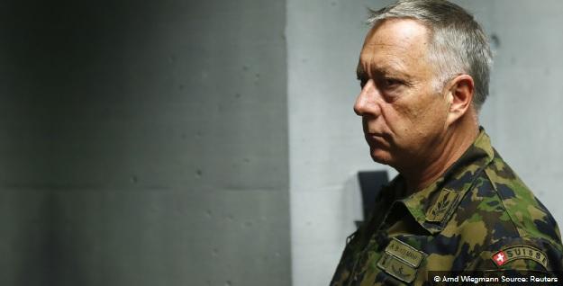 Suisse chef armée