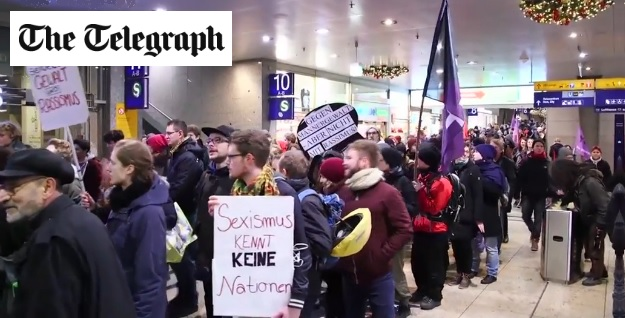 Cologne Agressions Telegraph