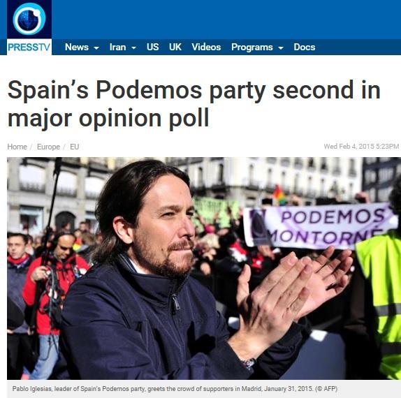 Press TV Podemos
