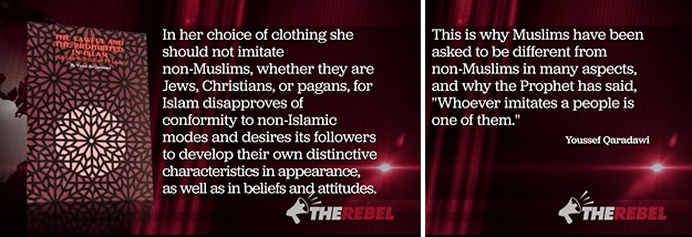 Qaradawi quote hijab