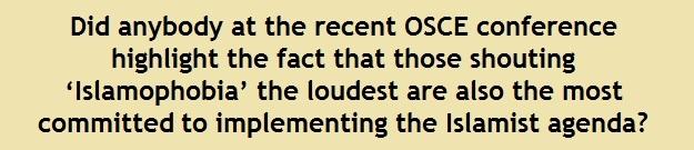 OSCE 12 Islamophobia the loudest 2