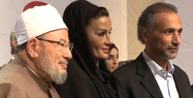 CILE Qaradawi Sheika Mozah Ramadan WP