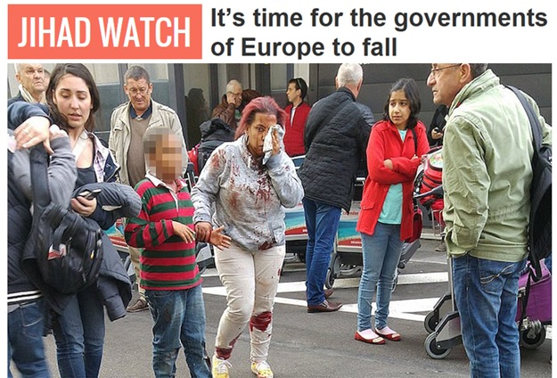 JihadWatch Brussels Governments Fall