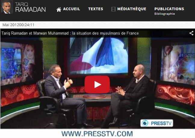 Muhammad Marwan Tariq Ramadan Press TV 1
