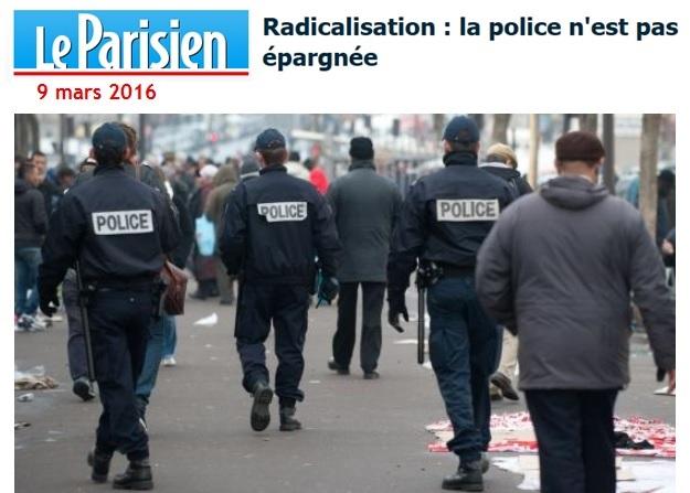 Parisien Radicalisation police
