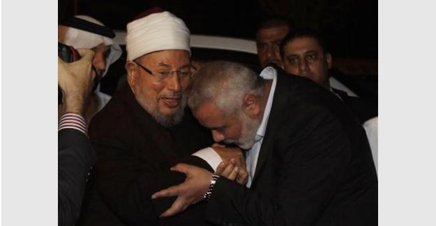 Qaradawi Haniyeh kiss WP