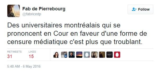 De Pierrebourg Twitter Amiraux Censure