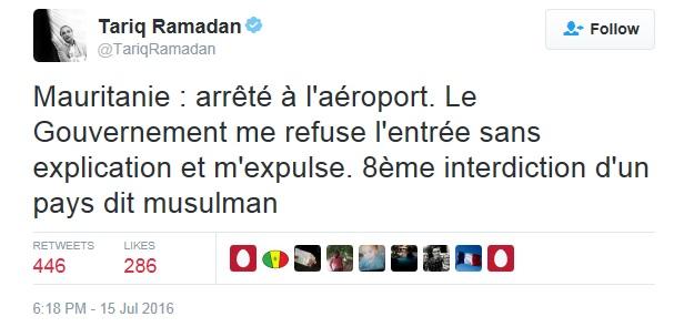 Ramadan T Mauritanie Twitter Français
