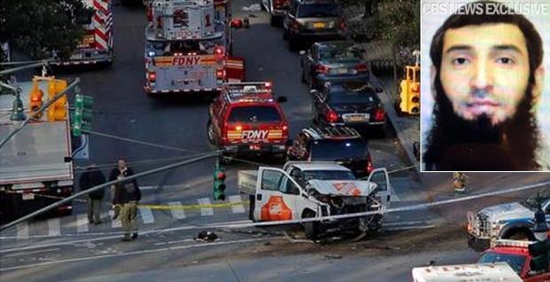 Six morts et 11 blessés — Attentat Manhattan